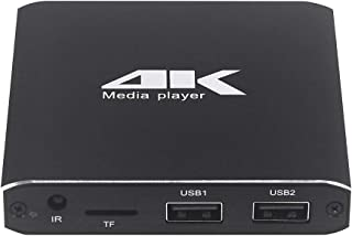 Player Player 4K HD Player Single AD(US) (Color : US)
