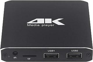 Rundongyiliao 4K HD Player Exclusive AD (Color : UK)
