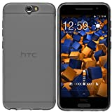 mumbi Hülle kompatibel mit HTC One A9 Handy Hülle Handyhülle, transparent schwarz