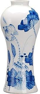 Florero Jarrón Jarrón de cerámica Lotus Alto Grado clásico for la decoración casera del hogar de la Boda de la Sala Dormit...