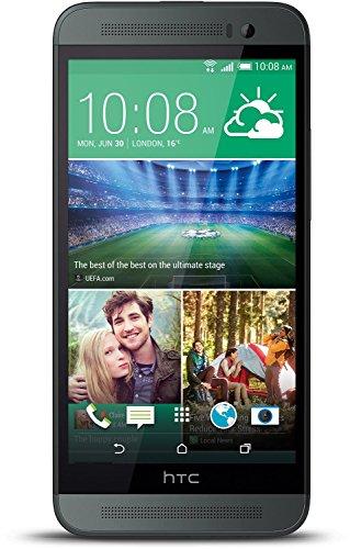 HTC One E8 LTE Smartphone (12,7 cm (5 Zoll) Display, Qualcomm Snapdragon 801 Prozessor, 2,3GHz, 13 Megapixel Kamera, Nano-SIM, NFC, Bluetooth, WiFi) grau