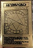 Yugioh Japanese The Seal of Orichalcos Custom Made Golden Metal Card