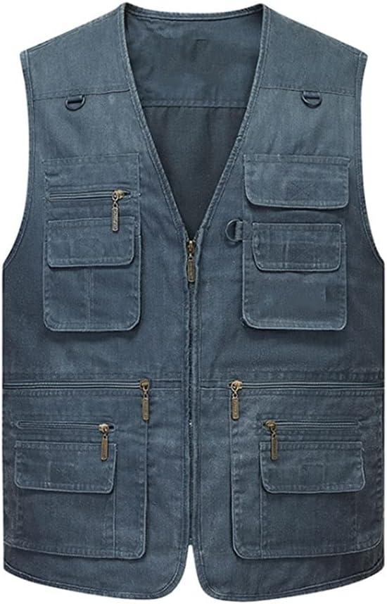 Fishing Vests Genuine for Men Photography Vest National products Multi-Pocket