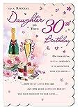 Geburtstagskarte zum 30. Geburtstag, mit Aufschrift 'Daughter' in englischer Sprache