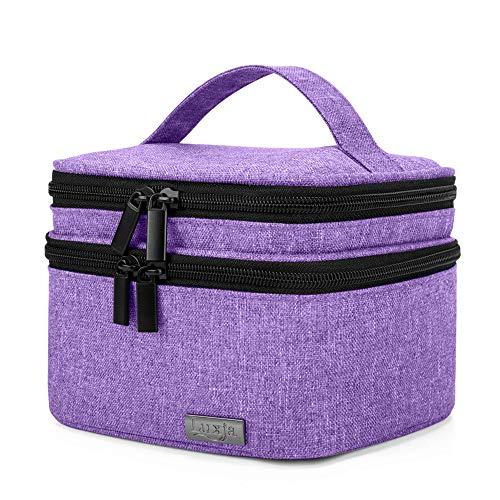Luxja Box pour Organisateur d'huile Essentielle pour Huile parfumée et Accessoires(20 Bouteilles)