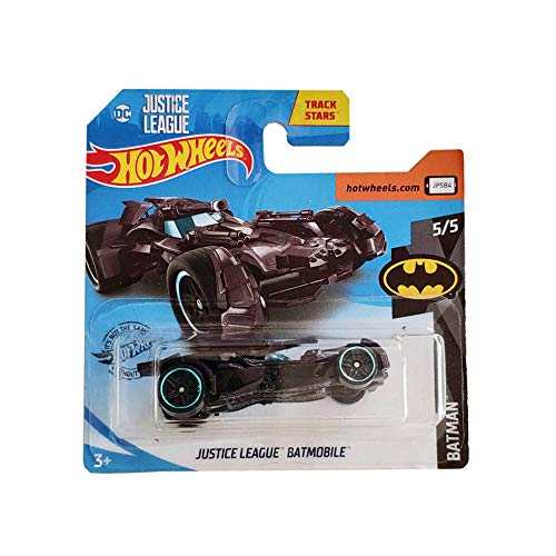 Hot Wheels Justice League Batmobile Batman 66/250 2019 Short Card
