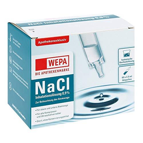 WEPA Inhalationslösung NaCl 0,9% 60X2.5 ml