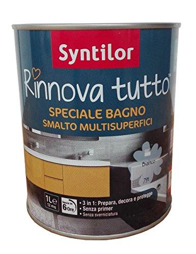 SMALTO RINNOVA TUTTO - 1 L - SYNTILOR SPECIALE BAGNO - ARDESIA