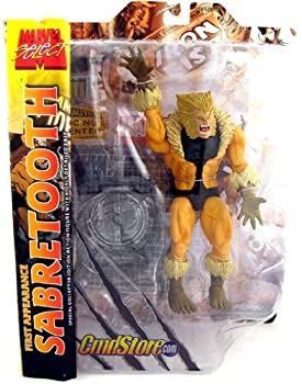 Marvel Select  First Appearance Sabretooth Action Figure Exclusive