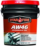 Star Fire Premium Lubricants AW 46 Hydraulic Oil, 5 Gallon, Pail