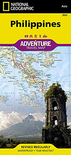 Philippines (National Geographic Adventure Map, 3022)