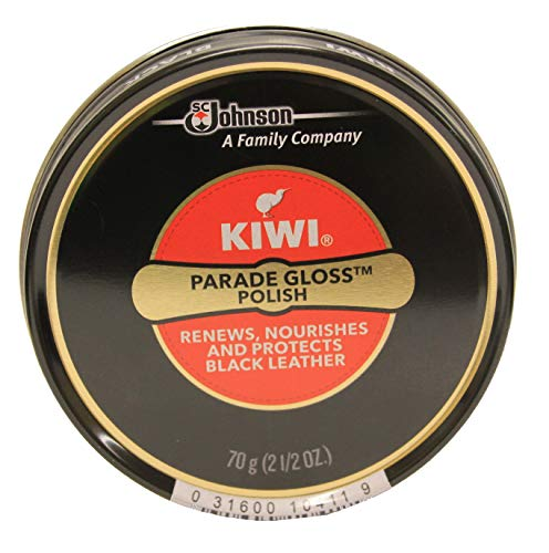 Kiwi パレードグロスは、2.5オズ、ブラック、2パックを貼り付け