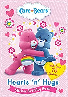 Hearts 'N' Hugs Sticker Activity Book (Care Bears)