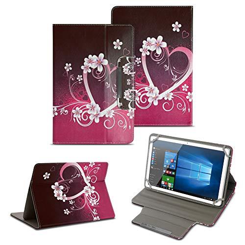 NAUC Jay-tech TXE10DS TXE10DW XE10D Tablet Schutzhülle Universal Tasche hochwertiges Kunstleder Tasche Hülle Standfunktion Cover Case, Farben:Motiv 2