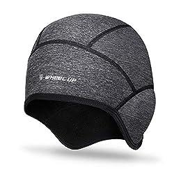 HIKENTURE winter hat | Windproof bike cap winter | Warm Bike Cap | Helmet undersuit men / women for bicycle helmet ski helmet climbing helmet | Sport cap for cycling skiing running outdoor