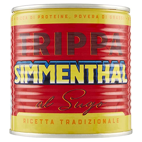 Simmenthal Trippa: Carne in Scatola Bovina con Sugo Ricco e Saporito, 1 Lattina da 420 gr