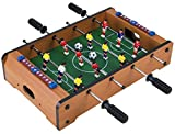 Homeware Wooden Classic Mini Table Top Foosball (Soccer) Game Set -...