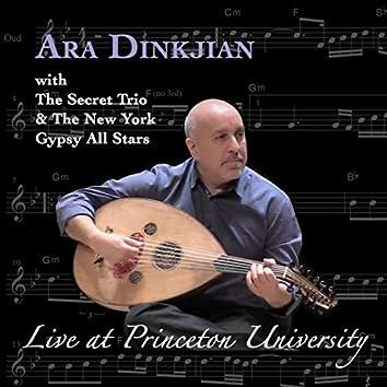 Live at Princeton University