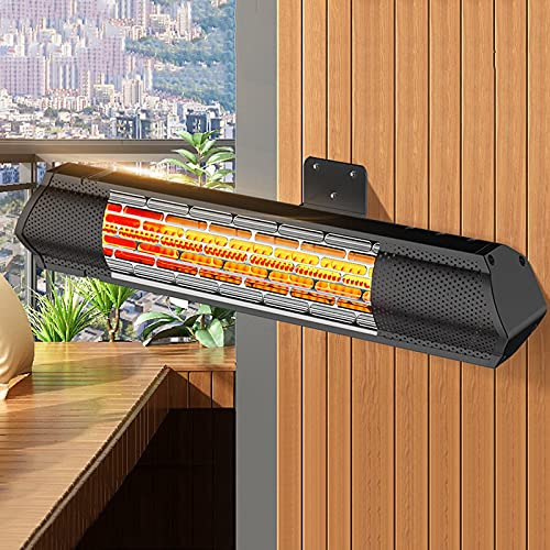 estufa terraza eléctrica de la marca CWW
