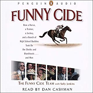 Funny Cide audiobook cover art