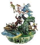 Santoro 3D Pirouette Grußkarte - Peter Pan