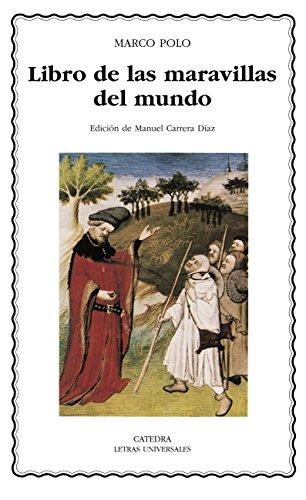 Libro de las maravillas del mundo (Letras Universales nº 400)