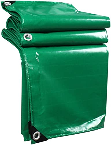 DJSMpb Baches Toile imperméable bache Voiture Toit Pluie Couverture Camping remorque Tente bache Verte Feuille prougeégée UV et Options Piscine Couverture bache (Taille   5mx7m)
