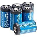 6-Pack Amazon Basics Lithium CR2 3 Volt Batteries