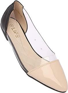 Life by Shoppers Stop Womens Casual Wear Slip On Ballerinas_Beige