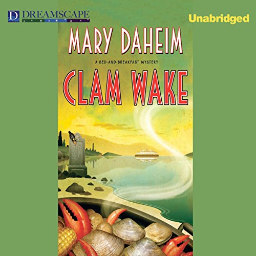 Clam Wake audiobook cover art