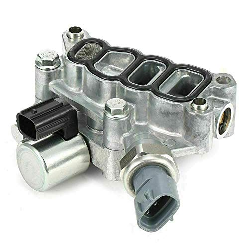 VTEC Solenoid Spool Valve with Filter Gasket Replaces Part 15810-RKB-J01 for 2005-2007 Honda Accord Hybrid(2997cc), 2005-2007 Odyssey(3471cc), and 2006-2008 Pilot(3471cc)