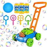 Bubble Lawn Mower for Toddlers 1 2 3 4 Year Old Boy Girl...