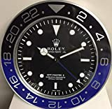 REPLICA Orologio 35 CM da Muro Rolex GMT II Master Batman Metallo Movimento...
