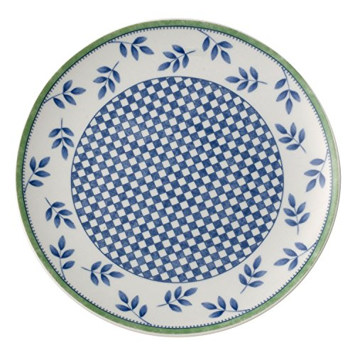 Villeroy & Boch Switch 3 Castell Frühstücksteller, 20 cm, Porzellan, Weiß/Blau/Grün
