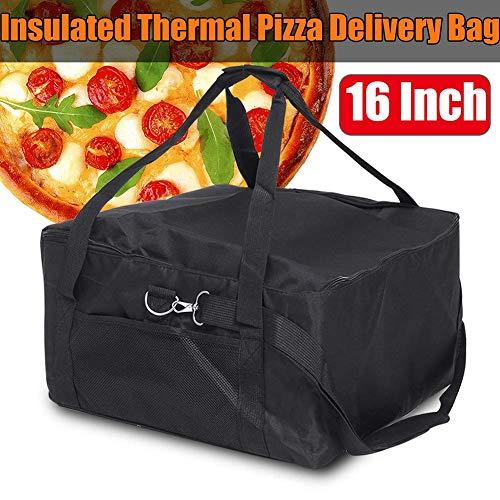 GCDN - Bolsa térmica para Pizza (40,6 cm), Color Rojo y