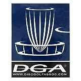 DGA Logo Disc Golf Sticker - 3-7/8' x 3'