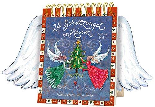 24 Schutzengel im Advent - Nur für dich!: Tisch-Adventskalender