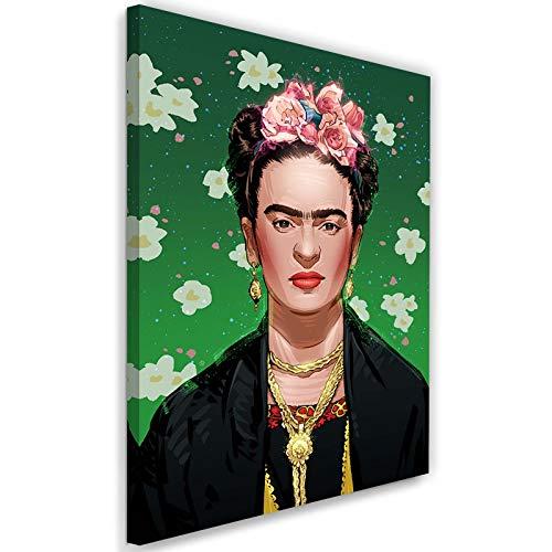 carowall CAROWALL.COM Cuadros en Lienzo Obra Feminista Arte Moderno Multi 50x70 cm
