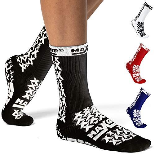 MAXGRIP Soccer Grip Socks with Anti Slip/Non Skid Grippy...