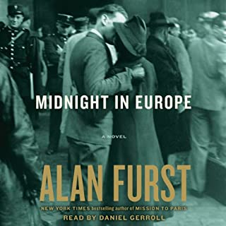 Midnight in Europe audiobook cover art
