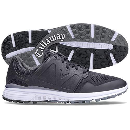 Callaway Men's Solana XT Golf Shoes, Black, 12, 2E