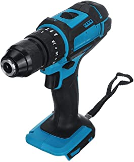 TZOU 3 in 1 Electric Cordless Impact Drill 18V Electric Screwdriver Drill Power Tool