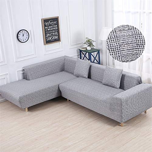 Patrón geométrico 1 pieza / 2 piezas Sofá cubierta para L Configuración en forma de sofá Sofá Sofá Sofá Sofá Sofá Cubiertas para sala de estar ( Color : Color 12 , Specification : 1 seat 90 140cm )