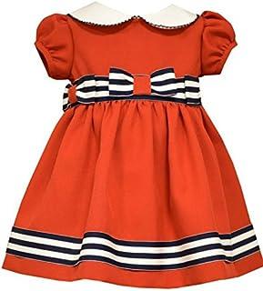 Bonnie Baby Peter Pan Collar Nautical Dress and Panty Set