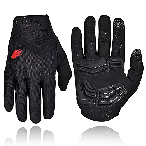 FIRELION Cycling Gloves Riding Mountain Bike Bicycle Breathable...