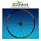 Ecoshirt UM-LFGL-8VNQ Pegatinas Stickers Llanta Rim Mavic Crossmax SL Pro Am50 MTB Downhill, Naranja 29'