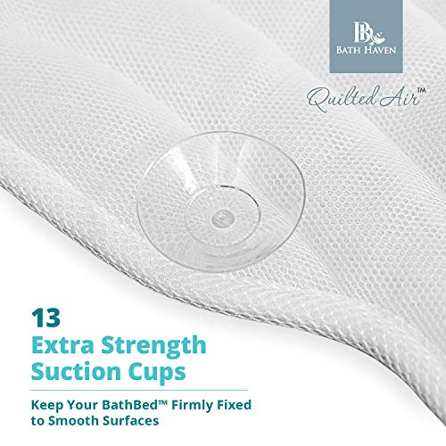 QuiltedAir BathBed Luxury Bath Pillow and Spa Cushion for Full Body Comfort