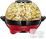 Best Popcorn Poppers - Popcorn Machine, 6-Quart/24-Cup Fast Heat-up Popcorn Popper Machine Review