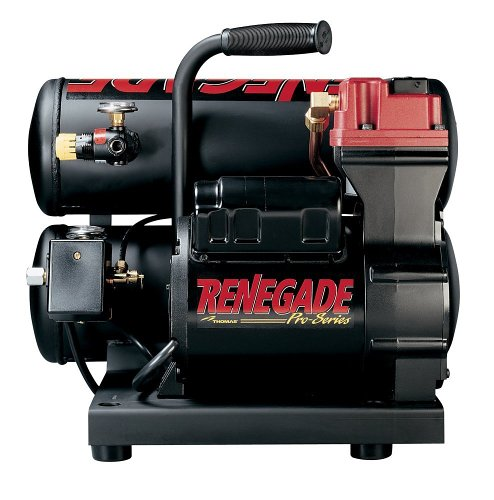 Thomas Compressors T-200ST 13 Amp 2-Horsepower 4-Gallon...