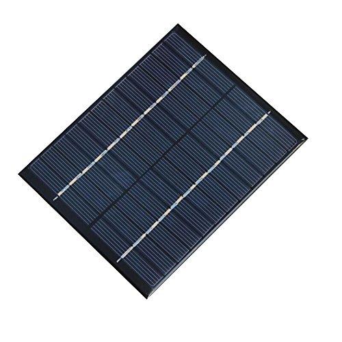 NUZAMAS 2W 12V 160ma Mini Solar Panel Módulo Sistema Solar Celular Camping Cargador de Baterías DIY Parts